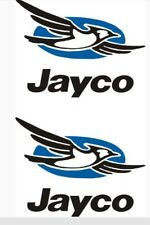 2- small Jayco decals trailer rv popup bird made in the USA Decal Vinyl  11.25""