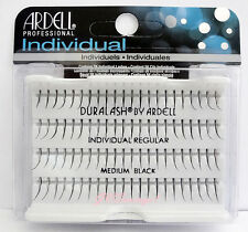 Ardell Duralash REGULAR MEDIUM Individual SINGLE Fake Lashes Eyelashes Black
