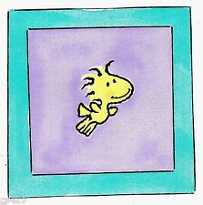 "5"" BABY SNOOPY WOODSTOCK  WALL SAFE STICKER CHARACTER BORDER"