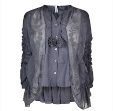 """Sublime blouse en soie """"HIGH USE by Claire Campbell"""" EX GIRBAUD ,taille 36F"""
