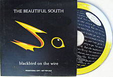 The BEAUTIFUL SOUTH CD Blackbird On The Wire 2 Track UK PROMO w./ PROMO STICKERS
