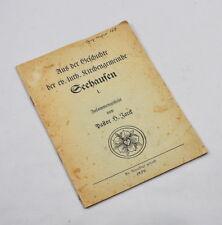 De l'histoire des EV. - Luth. églises municipalité seehausen (pasteur Jarck) 1950