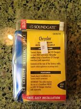 SOUNDGATE CD CHANGER INTERFACE CABLE MODEL CRCBLSQ