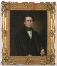 """""""Portrait of a Young Gentleman"""", Viennese Oil on Panel Painting, Early 19th C."""