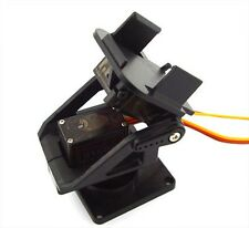 Pan/Tilt Camera Platform Anti-Vibration Camera Mount with 2 Servos for Aircraft
