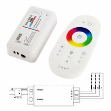 RGBW RGB Strip LED Touch Screen Dimmer 2.4G RF Remote Wireless Control System
