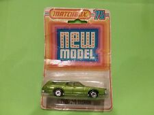MATCHBOX SUPERFAST - NO= 74 COUGAR VILLAGER  - NEAR MINT IN ORIGINAL BOX