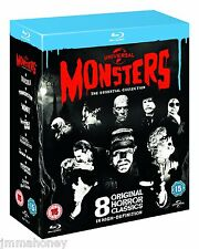 UNIVERSAL MONSTERS  ESSENTIAL COLLECTION Blu Ray DVD DRACULA MUMMY FRANKENSTEIN