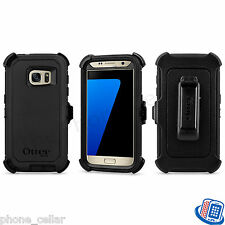 New OEM Otterbox Defender Series Black Shell Case for Samsung Galaxy S7 S 7