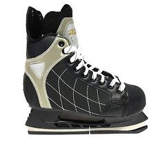 Roces RH 3  Eishockey Schlittschuhe - Senior Freizeit schwarz Iceskate Gr. 39