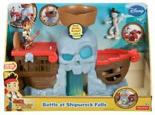 Fisher Price Disney Jake E Il Neverland Pirati battaglia a naufragio cade TOY