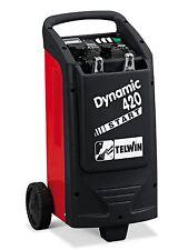 Caricabatterie avviatore starter carrellato TELWIN dynamic 420 230V 12-24V