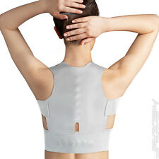 Magnetic Posture Brace Back Pain Shoulder Corrector Lumbar Support Belt Unisex