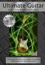 Ultimate Guitar Chords, Scales and Arpeggios Handbook: 240-Lesson,...