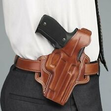 NEW! Galco Fletch High Ride BLACK Belt Holster Glock 20/21 Model# FL228B
