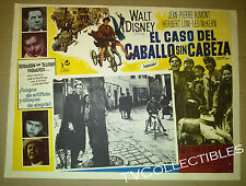 12x16 Mexican Lobby Card ~Disney's HORSE WITHOUT A HEAD ~1963 Jean-Pierre Aumont