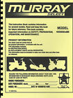 Murray 405000X8B Lawn Tractor Owners/Parts Manual