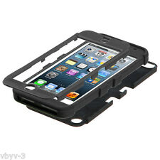 For Apple iPod Touch 6 6th Gen TUFF Hybrid Silicone Rugged Hard Case Cover BLACK