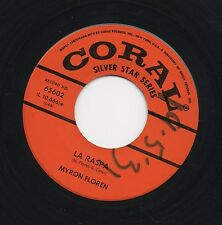 MYRON FLOREN - LA RASPA / MOUNTAIN BELLE SCHOTTISCHE. (UK, CORAL, 65602)