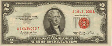 1953 $2 United States Note, Red Seal, Circulated High Grade note (Z-164)