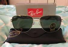 RayBan Ray-Ban Caravan Gold/Tortoise Frame G15 Lens RB3483 001 60MM NEW