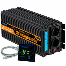 Pure sine wave 1500W 3000W Power Inverter 24V 240V Converter with LCD display