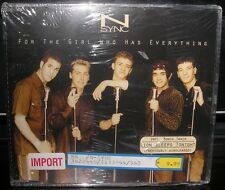 NSYNC FOR THE GIRL WHO HAVES EVERYTHING U,K NEW CD SINGLE LION SLEEPS TONIGHT