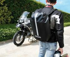 100% WATERPROOF MOTORCYCLE RUCKSACK, DRY PACK, BACK PACK, MOTORBIKE  BACKPACK