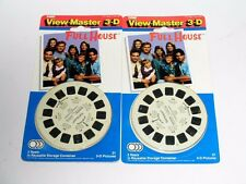 2 UNUSED 1991 FULL HOUSE TV SHOW VIEWMASTER REELS SETS