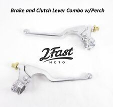 Clutch Brake Lever Set Combo with Perch Honda ATV Dirtbike Off Road 2FastMoto