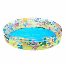 Paddling Pool Swimming Garden Inflatable Kids Outdoor Bestway Ocean Life 48""
