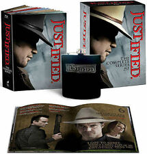 Justified: The Complete Series (Blu-ray Disc, 19 Disc Set, 2015) NEW