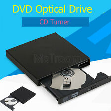 Portatile Esterna USB 2.0 DVD Combo DVD-ROM CD-ROM Disco rigido CD Burner