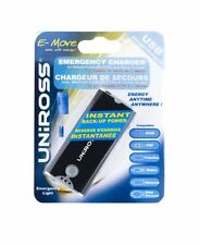 Uniross Emergency Charger for Phones and iPod with Torch