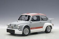 AUTOART 1970 FIAT ABARTH TCR 1000 MATT GREY/RED STRIPES 1:18*New Release*