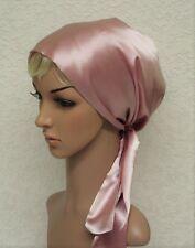 Women's Head Cover, satin hair snood, silky tichel, full hair covering, bonnet