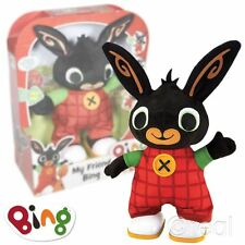 Nouveau Bing Bunny My Friend Bing Walking talking singing peluche jouet officiel