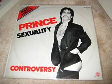 PRINCE  Sexuality Controversy Very Rare Vinyl 12 Single German Import