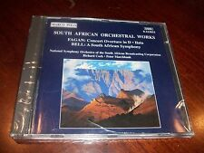 South African Orchestral Works by Fagan & Bell (Music CD 1995) Symphony NEW