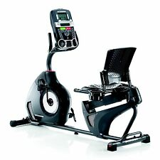 Recumbent Exercise Bike Fitness Stationary Cardio Workout Bicycle Indoor Gym