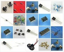 ELECTRONIC PROJECT STARTER KIT / BREADBOARD,CAPACITOR,RESISTOR,LED,SWITCH