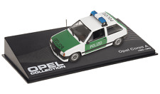 OPEL Corsa A Police - VOITURE MINIATURE COLLECTION - IXO 1/43 CAR AUTO-93