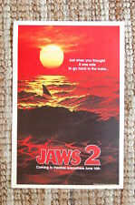 Jaws 2 Lobby Card Movie Poster