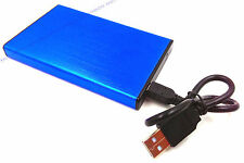 "BIue New 120 GB external Portable 2.5"" USB 2.0 hard Drive HDD POCKET SIZE"
