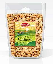 SUNBEST Whole Cashews Roasted and Salted (2 LBS) in Resealable Bag