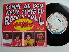 """MARTIN CIRCUS: Comme au bon vieux temps du Rock' n' Roll 7"""" VOGUE 45T V 140271"""