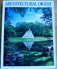 ARCHITECTURAL DIGEST OCTOBER 2000, PHILIP JOHNSON GARDEN ON THE COVER (4321)