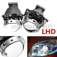 3.0'' 12V D2S 35W Angel Eye Q5 HID BI-Xenon Projector Lens Headlight Kit LHD