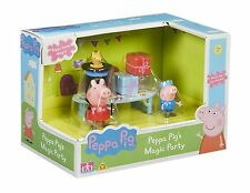 Peppa Pig - Peppa Pig's Magic Party Playset NEW 2016