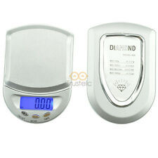 100g x 0.01g Mini Pocket Diamond Digital Jewelry Gold Gram Balance Weight Scale